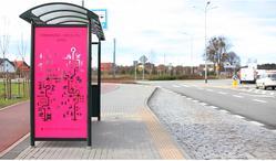 'BUS WITH US' - aranżacja przystanków autobusowych