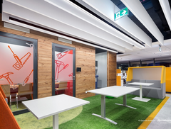 Tak pracuje pokolenie Y - zobacz nowoczesne projekty wnętrz biurowych